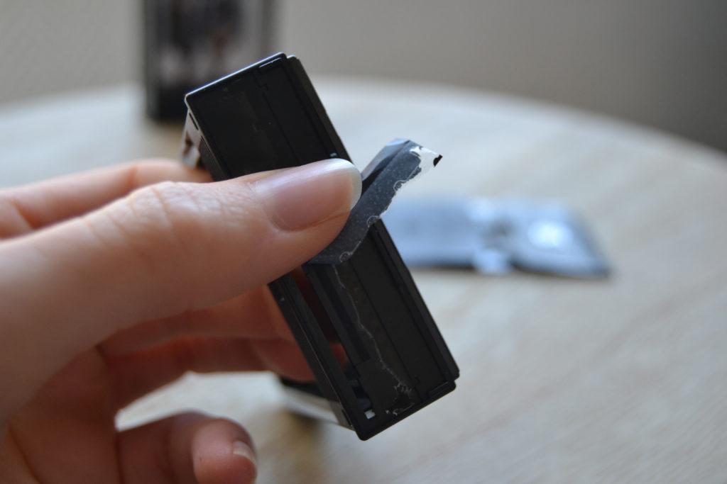 instax mini fujifilm cadre photo languette DIY