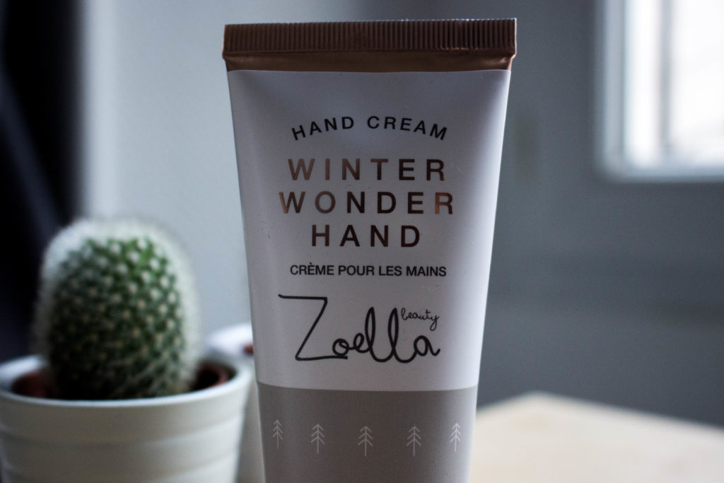 photo crème mains zoella noel
