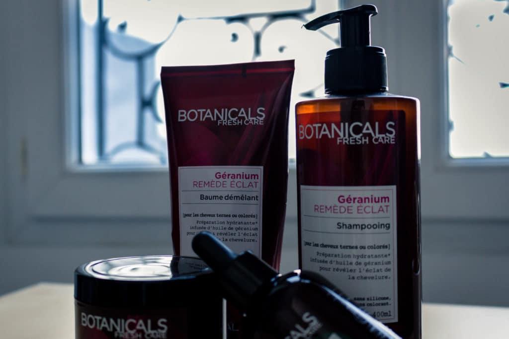 routine cheveux colores ensemble de produits