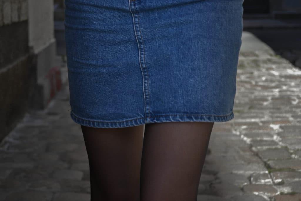 jupe en jeans ASOS