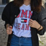 jupe en jean tommy image