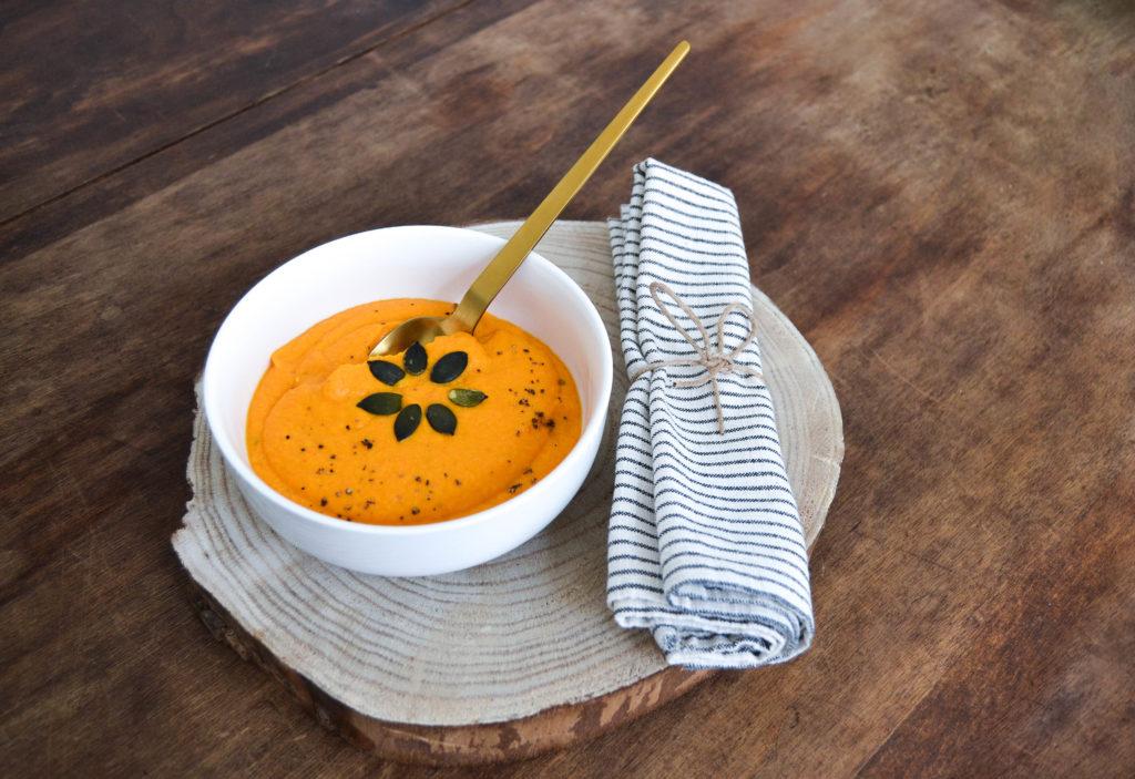 purée de carottes photo