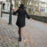 robe noire pretty little thing nantes blog