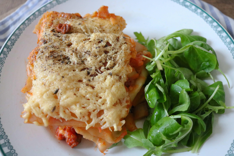 lasagnes végétariennes végé