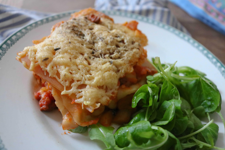 lasagnes vege végétariennes