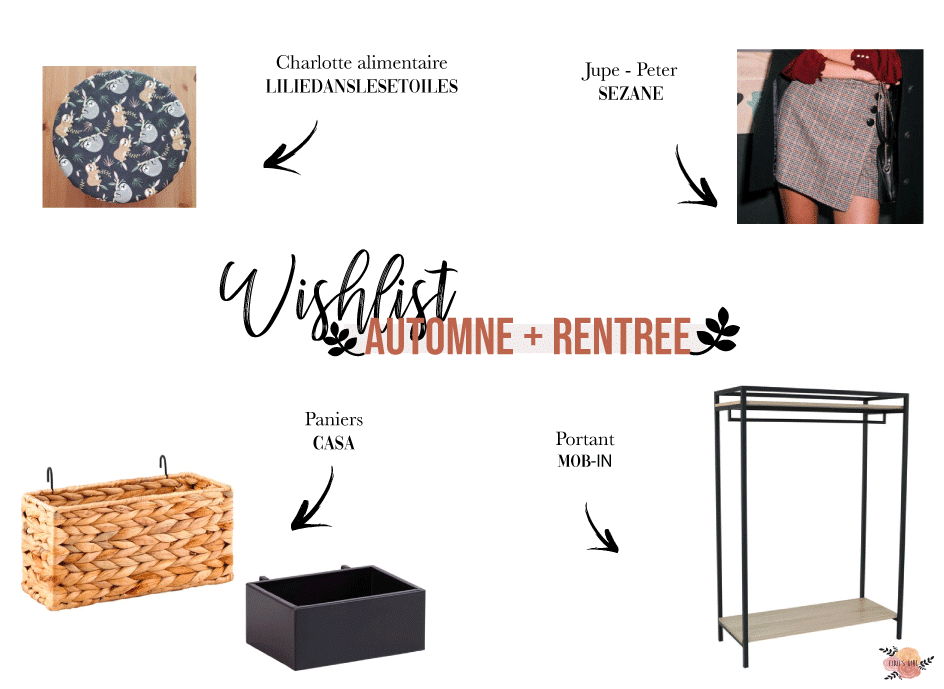 wishlist automne 2019 fidji girl